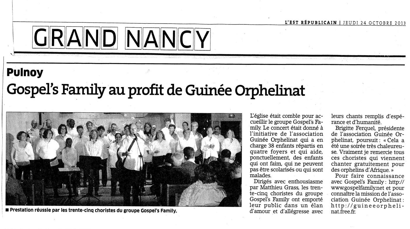 Est Répu Gospel's Family-Guinée Orphelinat - copie